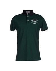 Beverly Hills Polo Club Topwear Polo Shirts Men Dark Green