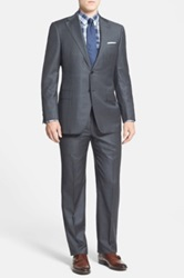 Hickey Freeman 'Beacon' Classic Fit Check Suit