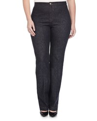 Marina Rinaldi Igea Stretch Denim Pants Women's Navy Blue