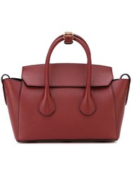 Bally Small 'Sommet' Tote Red