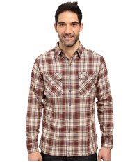 Kuhl Dillingr Long Sleeve Shirt Sundried Tomato Men's Long Sleeve Button Up Red