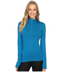 Icebreaker Oasis Long Sleeve Half Zip Alpine Women's Clothing Bone