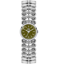 Orla Kiely Laurel Stainless Steel Watch Green