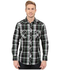 Rock And Roll Cowboy Long Sleeve Snap B2s5411 Black Men's Long Sleeve Button Up