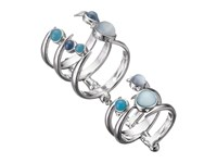 Stephen Webster Jewels Verne Bonafide Ring With Blue Agate Blue Agate Aqua Blue Sapphire Ring Silver