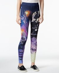 Juniors' Star Wars Dark Side Printed Leggings From Hybrid