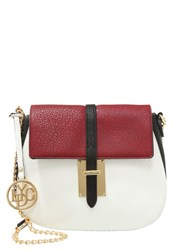 Lydc London Handbag Black Wine White
