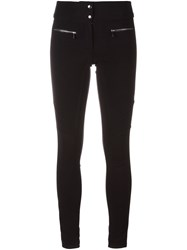 Barbara Bui Mid Rise Skinny Trousers Black