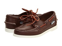 Sebago Docksides Brown Elk Women's Lace Up Casual Shoes Tan