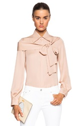 Dsquared Broadway Blouse In Neutrals