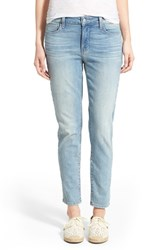 Women's Nydj 'Clarissa' High Rise Stretch Skinny Ankle Jeans Manhattan