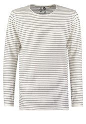 Solid Torben Long Sleeved Top White