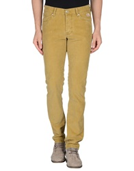 Roy Rogers Roy Roger's Casual Pants Yellow