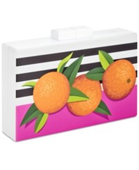 Inc International Concepts Trinaa Orange Clutch Only At Macy's Multi