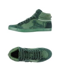 Drunknmunky High Tops And Trainers Green
