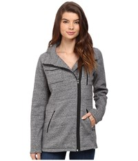 Hurley Winchester Fleece Heather Grey Women's Coat Gray
