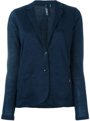 Woolrich Buttoned Cardigan Blue