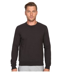 Todd Snyder Patch Crew Sweatshirt Charcoal Men's Sweatshirt Gray