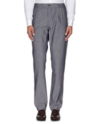Siviglia White Trousers Casual Trousers Men Blue