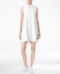 Racehl Rachel Roy Shift Shirtdress White