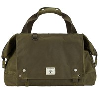Barbour Waxed Cotton Advance Holdall Olive