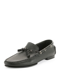 Tom Ford Grant Tassel Driver Loafer Black