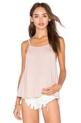 Obey Anya Open Back Tank Blush