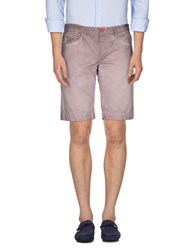 Jaggy Trousers Bermuda Shorts Men Light Brown