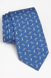 Vineyard Vines Men's 'Bull And Bear' Silk Tie