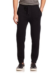 Vince Wool And Cashmere Sweatpants Black
