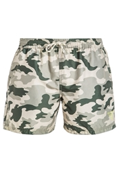 Guess Hollywood And Vine Swimming Shorts Camou Khaki