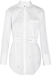 Helmut Lang Cotton Gauze Shirt White