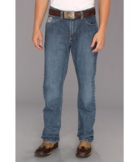 Cinch Silver Label Medium Stone Men's Jeans Blue