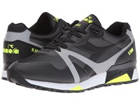 Diadora N9000 Bright Protection Black Yellow Flou Men's Shoes