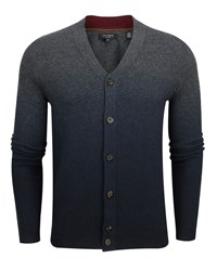 Ted Baker Conveks Sprayed Ombre Cardigan Grey