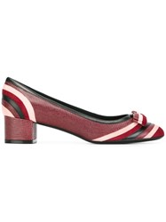 Salvatore Ferragamo 'Fosca' Pumps Pink And Purple