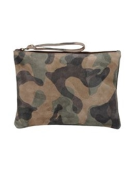 George J. Love Medium Leather Bags Military Green