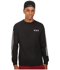 Huf Sante Long Sleeve Tee Black Men's T Shirt