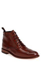 Men's Sendra 'Newport' Wingtip Boot Cognac