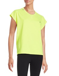 Y.A.S Boxy Active Top Yellow