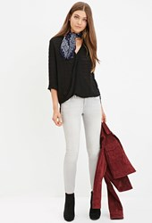 Forever 21 Skinny Ankle Jeans Grey
