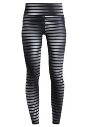 Gap Tights Metal Streaks Black