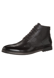 Karl Lagerfeld Lagerfeld Laceup Boots Black