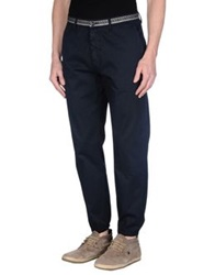 Department 5 Casual Pants Dark Blue