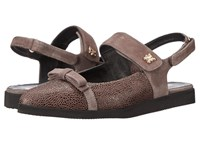 Helle Comfort Charis Taupe Combo Women's Flat Shoes