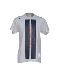 The Editor Topwear T Shirts Men Grey