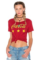 Chaser Coca Cola Stars Tee Red