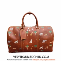 The Travel Bag Inspired By Wes Anderson's The By Verytroubledchild
