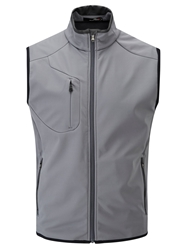 Rlx Ralph Lauren Golf Solid Rib Vest Grey