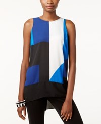 Inc International Concepts High Low Color Blocked Tank Top Only At Macys Structured Colorblock
